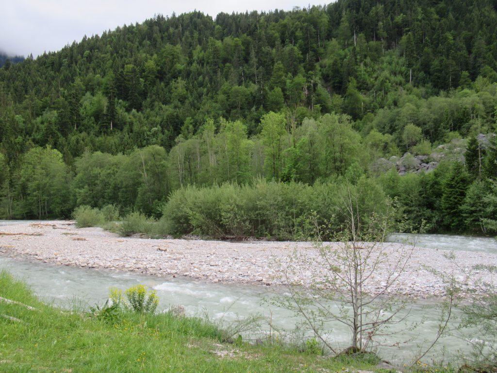 Bild Freizeit Umweltbaustelle Alpen