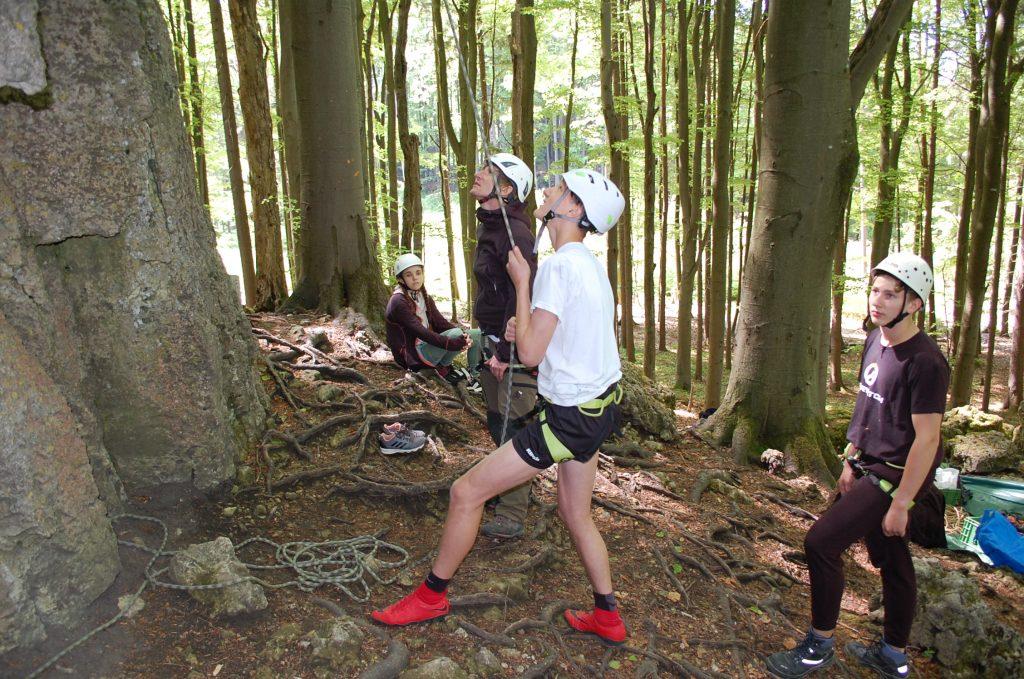 Bild Freizeit Klettern und Naturschutz