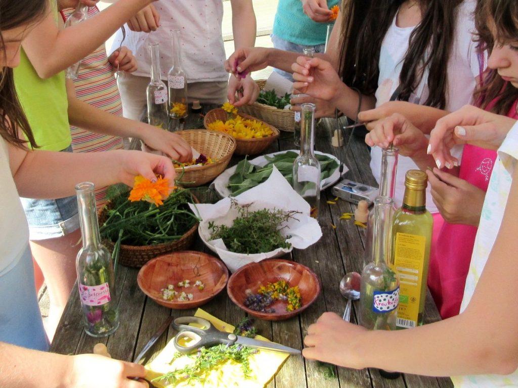 Bild Freizeit Kräuterküche und Landart für Mädels